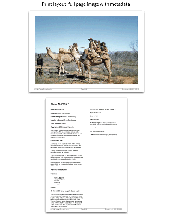 Print layout: full page image with metadata